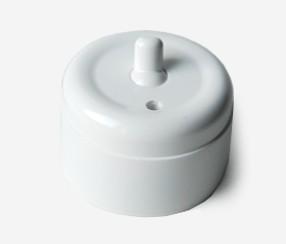 Wall switch, duroplast, regular button