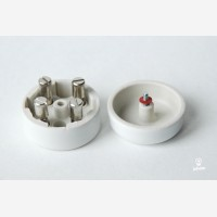 Junction box circular Mini, white
