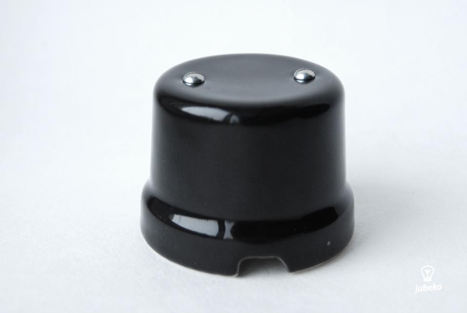 Black porcelain shunt box