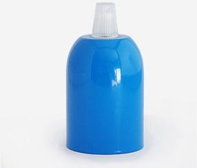 Metal lamp, blue