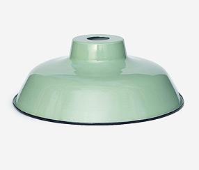 Emaliuotas lempos gaubtas  TLN, žalias