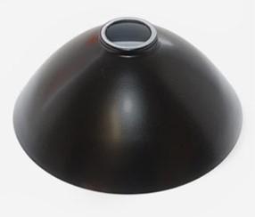 Lempos gaubtas juodas