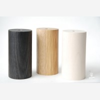 Wooden lamp Black Deco,  birch
