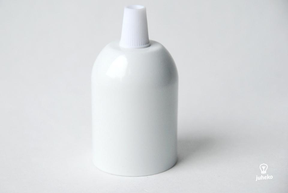 Metal lamp, white