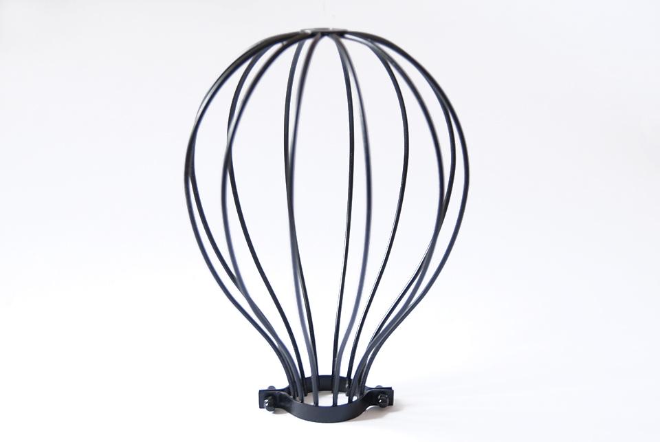 "Bulb cage, "" Whisk"",  black"