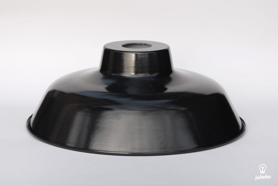 Enamel Lampshade TLN, black