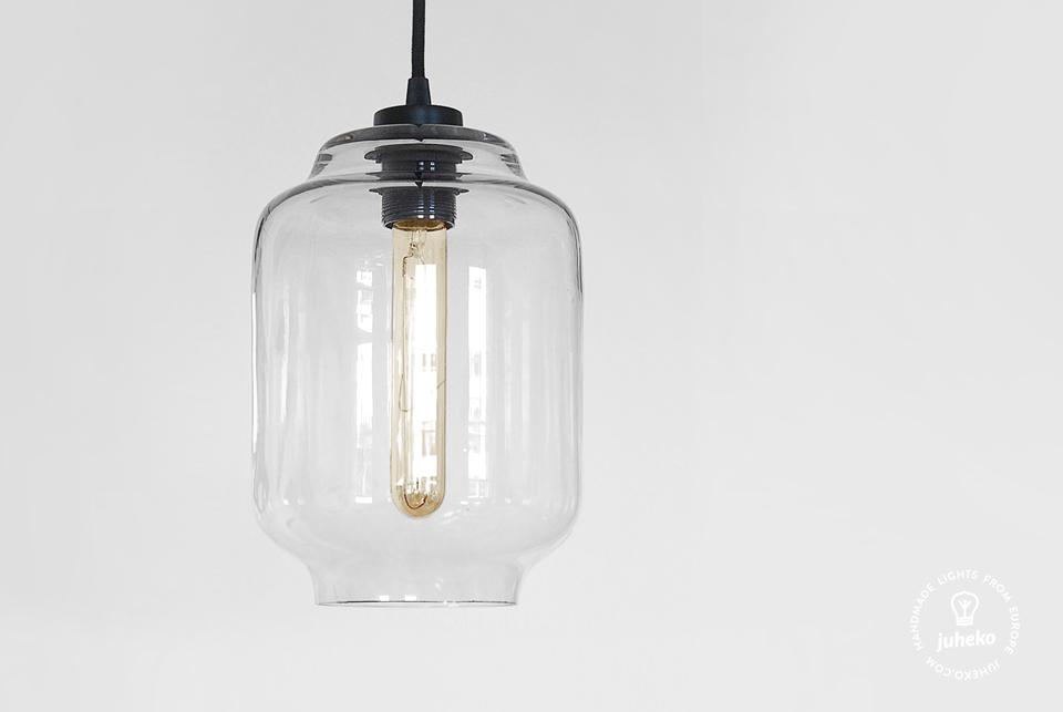 Handmade glass pendant light Kaju