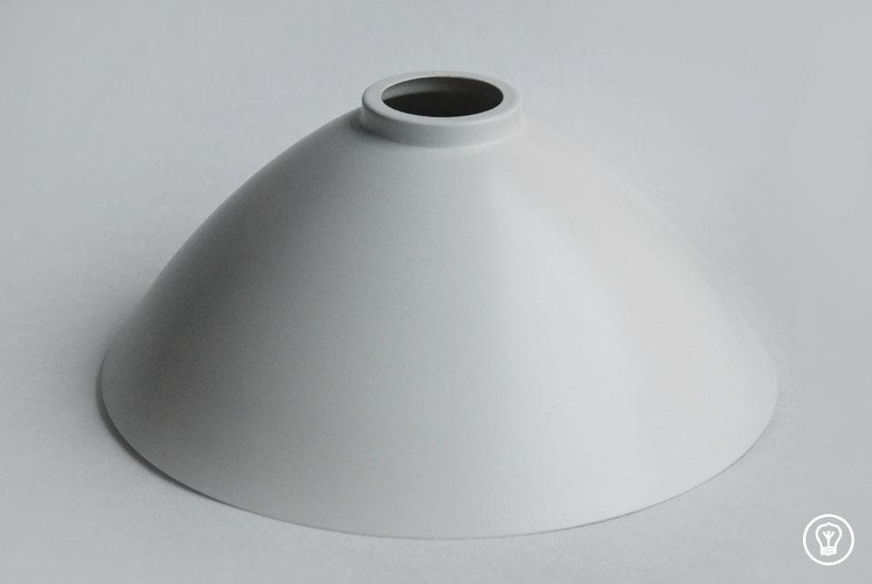 Lampshade matt white