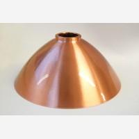 Lampshade, copper, lacquer