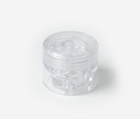 Kaablikinniti plastik, läbipaistev
