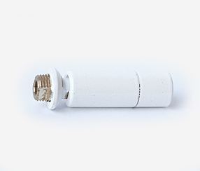 white tube connector