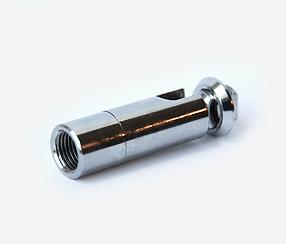 Chrome tube connector