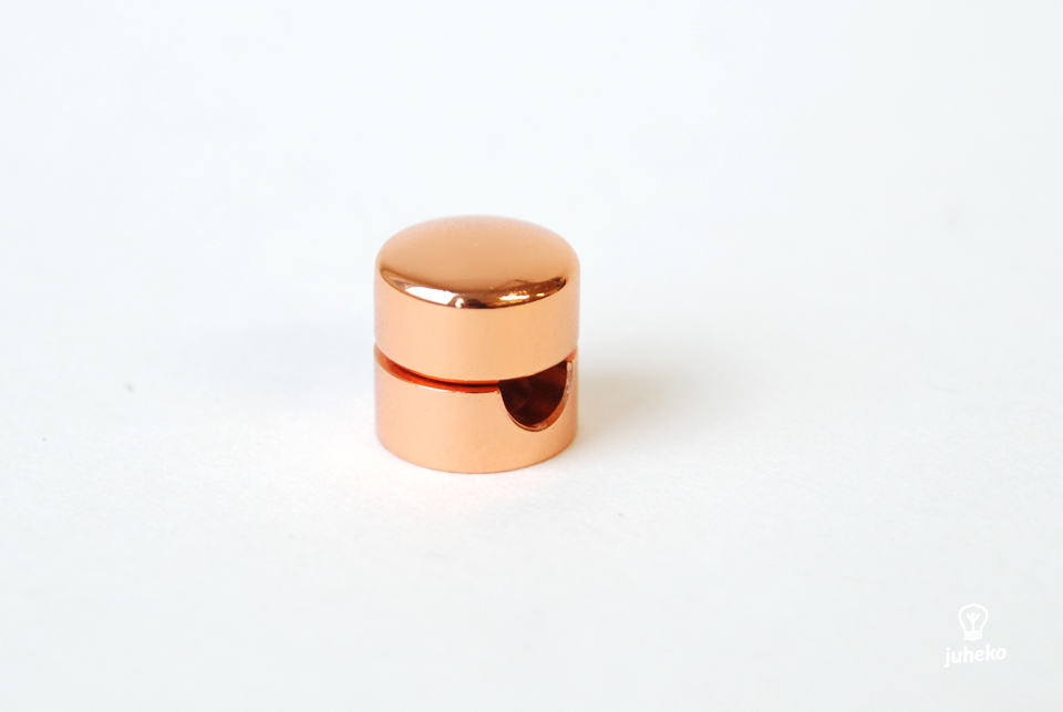 Cable wall fixing Mini, copper
