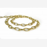 Oval chain 2.8MM, gold