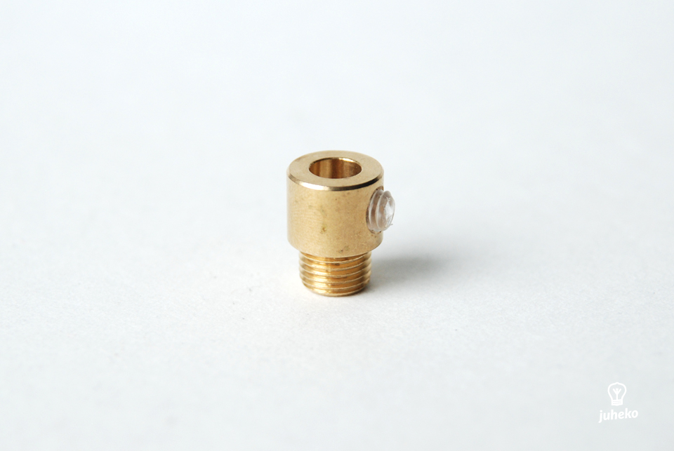 Cable grip, brass
