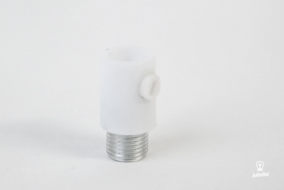 Cable grip, white