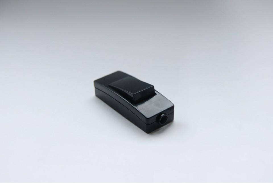 Inline switch, black