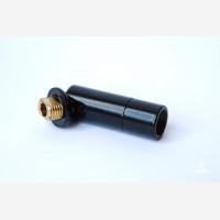 black tube connector