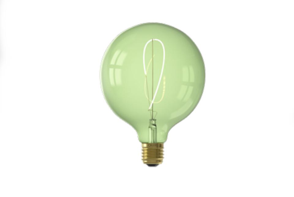 Flexible LED Filament bulb 125 mm, green