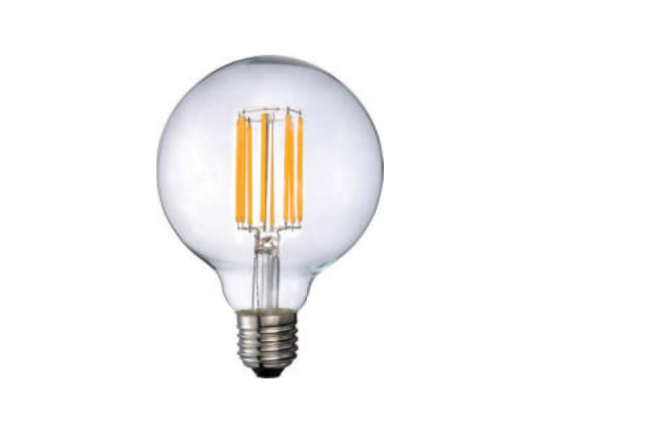 LED Globe lamppu, kirkas 95mm, 2520lm