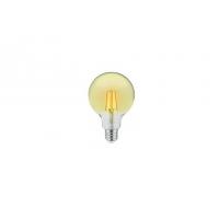 Amber cover  LED filamentglobe  lightbulb 95mm,400lm