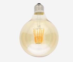 Antiik LED filament muna 125mm, 725lm