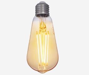 Antiik LED filament, 380lm