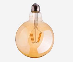 Antiik LED filament muna 125mm, 700lm