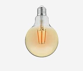 Antiik LED filament muna 95mm, 400lm