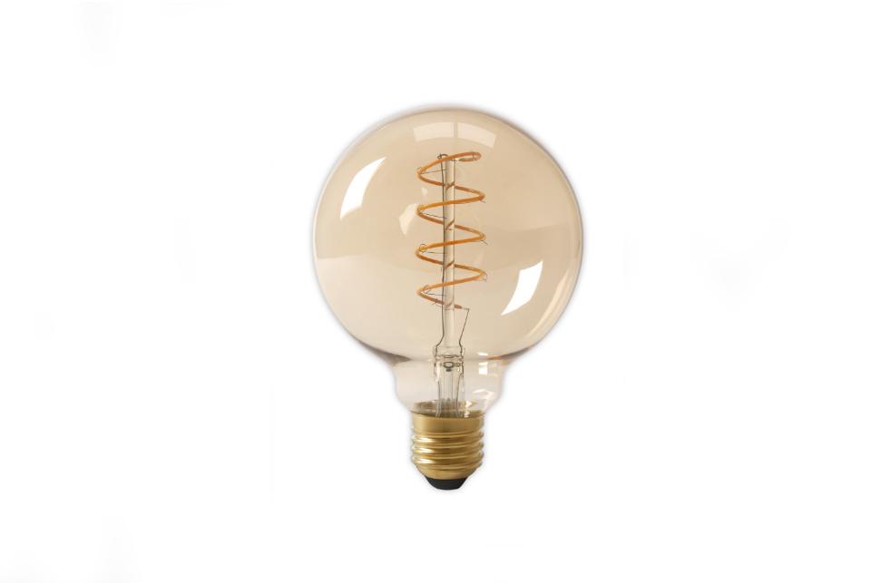 Antiik kaard-LED filament muna 125mm, 480lm
