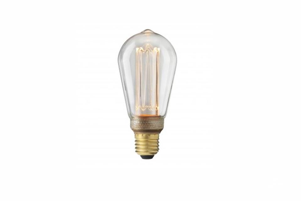 Edison-tyylinen LED lamppu E27, kirkas