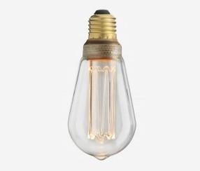 Edison LED lambipirn E27, kirgas