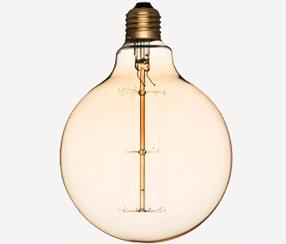 Lambipirn Edison Globe hööniidiga, 125 mm