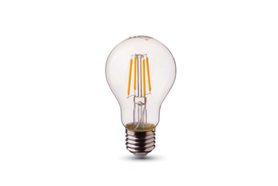 LED  lamppu, kirkas 60 mm, 1055 lm,
