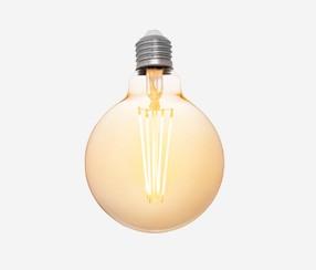 Antiik LED filament muna 95mm, 380lm