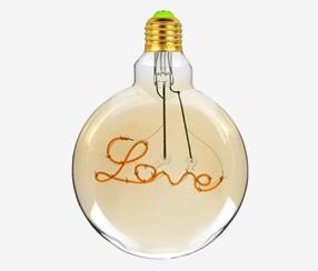 """LED """" Love""""  E27"""