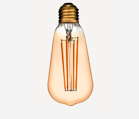 Antiikin  LED filament lamppu, 500lm