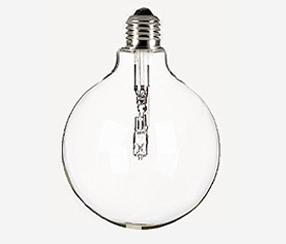 Mega-halogeenilamppu 125mm, 28W