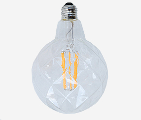 Kirgas LED kristall muna, 130 mm 100lm