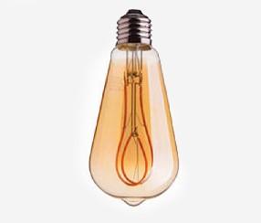 Antiik silmus-LED filament , 300lm