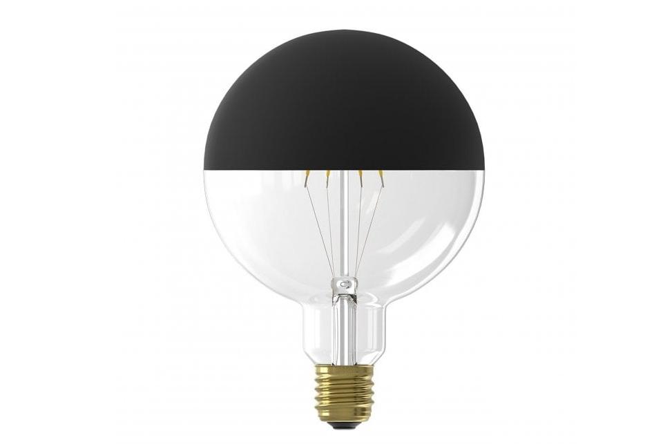 LED peililamppu, musta, 125 mm