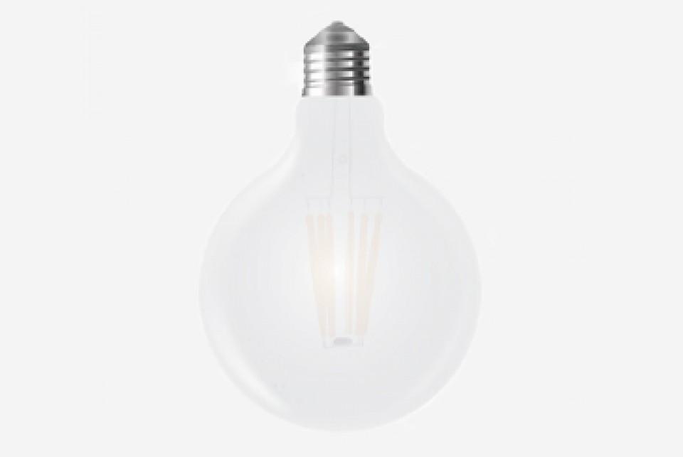 Udu LED muna, 125 mm