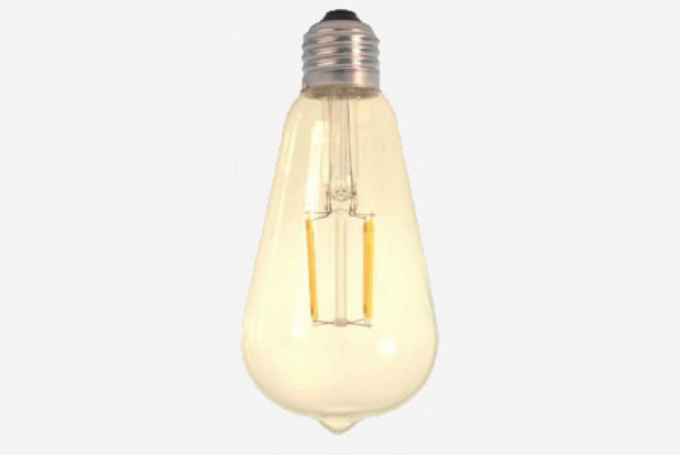 Antiik LED filament, 500lm
