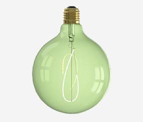 Flexible Led bulb, green, 125 mm