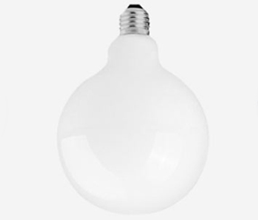 White LED globe, 120 mm