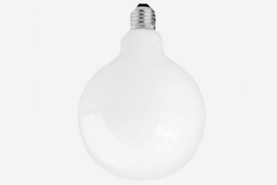 White LED globe, 120 mm