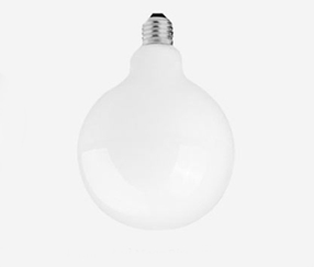 White LED globe, 95mm
