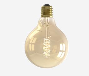 Antiik kaard-LED filament muna Rustik 95mm, 200lm