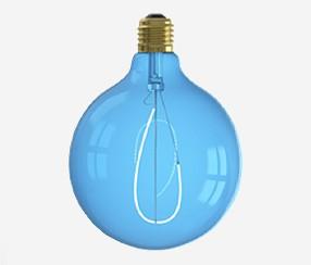 Flexible Led bulb,blue, 125 mm