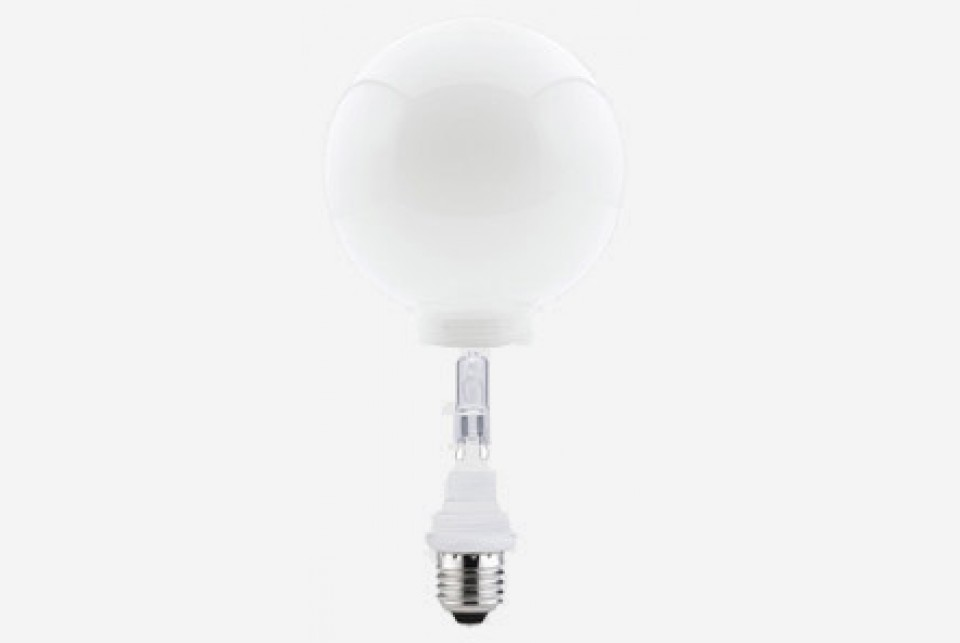 Lightbulb 100mm with replaceable G9 halogen